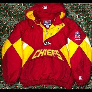 Kansas City Chiefs Starter Coat🏈